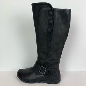BOC Born black leather riding boots